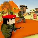 Blocky Army Base: Modern War Strike