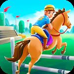 Cartoon Horse Riding Game