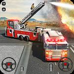 Пожарная машина Школа вождения имитатор 2018