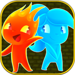 Fireboy Watergirl Shooter Alien - Teamwork game
