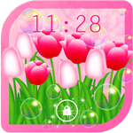 Flowers Tulips Live Wallpaper