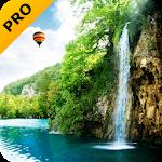 Лісовий водоспад PRO живі шпалери