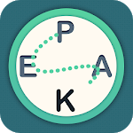 Letter Peak - Word Search Up