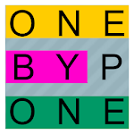 One By One - Multilingual Word Search