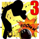 Stickman Destruction Warrior 3