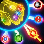 Super Heroes Knife Battle_Avengers Knife Battle