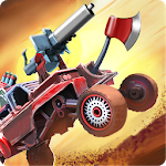 War Cars 2: Online Multiplayer 2D Car Battle