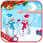 Кумедний сніговик LWP